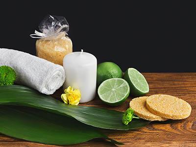 masaż owocowy